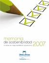 Memoria Sostenibilidad 2007